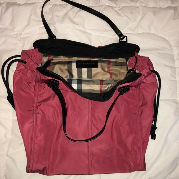 Burberry Handbags - (2 2) Burberry Buckleigh Packable Nylon Tote Bag f499045fdcea7